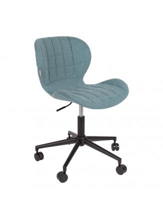 OMG Bureaustoel Zwart/Blauw