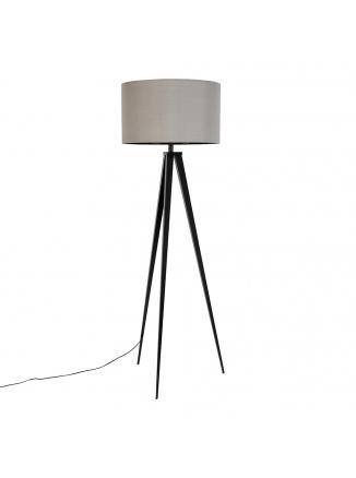 Tripod Vloerlamp Zwart/Grijs