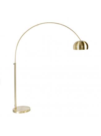 Metal Bow Vloerlamp Goud