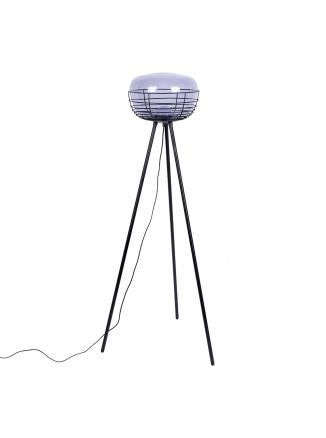 Smokey Vloerlamp Zwart