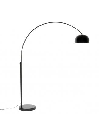 Metal Bow Vloerlamp Zwart
