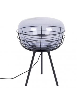 Smokey Tafellamp Zwart