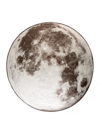 Moon Buiten Vloerkleed Rond '280 Grijs